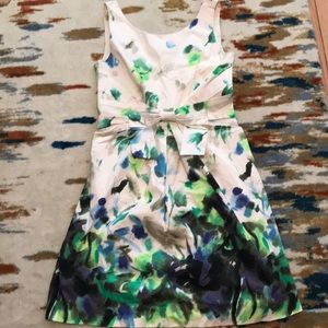Kate Spade Watercolor A-Line Dress